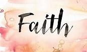 Faith for living