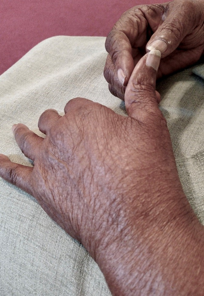 Mom's hands